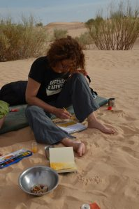 Sophie désert